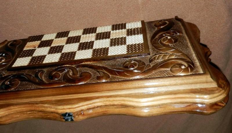 шахматы в сложенном виде