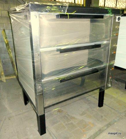 хлебопекарная печь в пленке хпэ-500