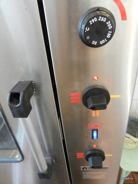 панель управления жарочного шкафа шж-150-2с