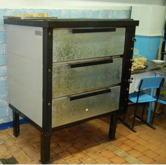 Хлебопекарная печь в детском учреждении ХПЭ-500
