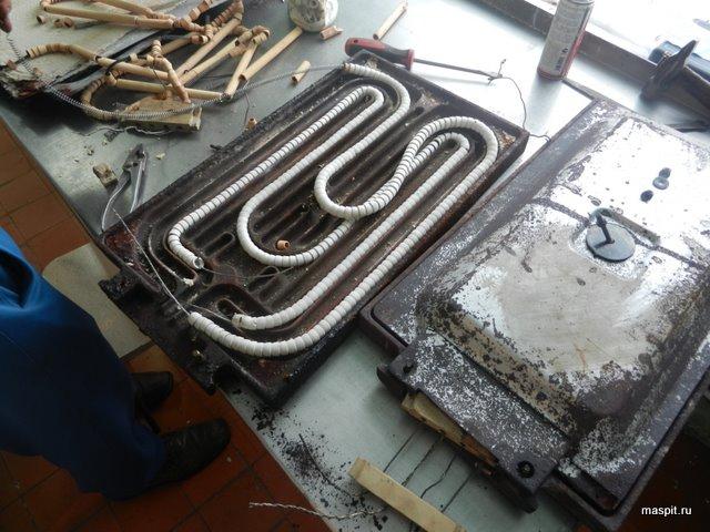 Ремонт электроплиты в мытищах