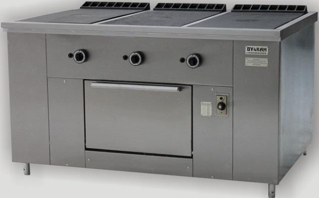 Газовая плита профессиональная ПРГ-IIA-3С ДШ