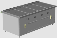 Газовая плита ПРГ-IIА-4С 2ДШ