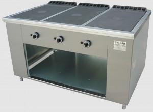 Газовая плита ПРГ-IIА-3С для столовой