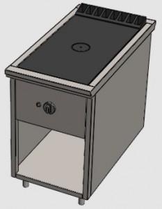 Одноконфорочная промышленная плита