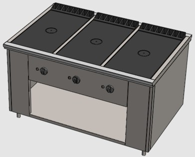 Газовая плита в столовую