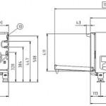 Инженерные подключения UNOX XVC 105 E
